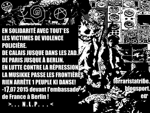 La Musikke passe à travers les frontières – La Solidarité pardessu la répression!